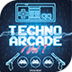 Techno Arcade 2 Flyer Template - GraphicRiver Item for Sale