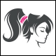 Extensions Hair Salon Logo