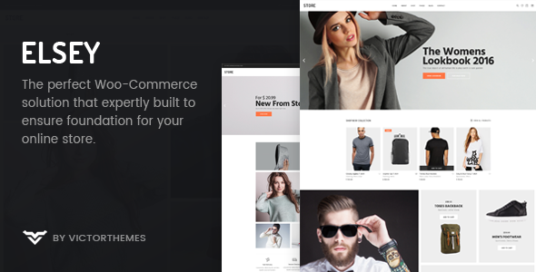 Elsey - Responsive eCommerce Theme Free Download | Nulled