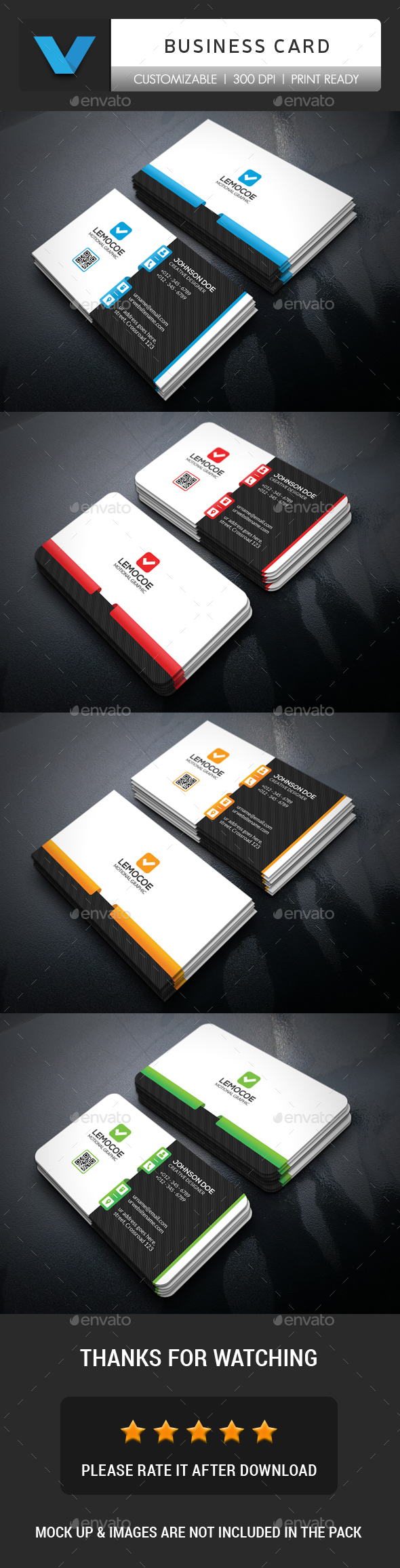 GraphicRiver Minimal Business Card 20352303