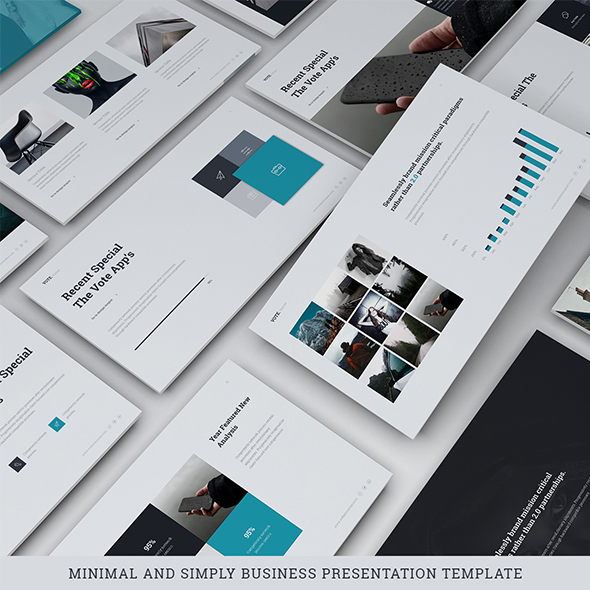 Vote - Simply Template (Powerpoint) - Business PowerPoint Templates