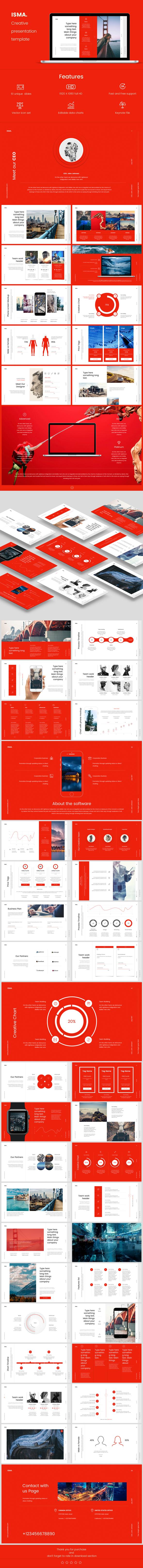 GraphicRiver Isma Keynote Presentation Template 20352513