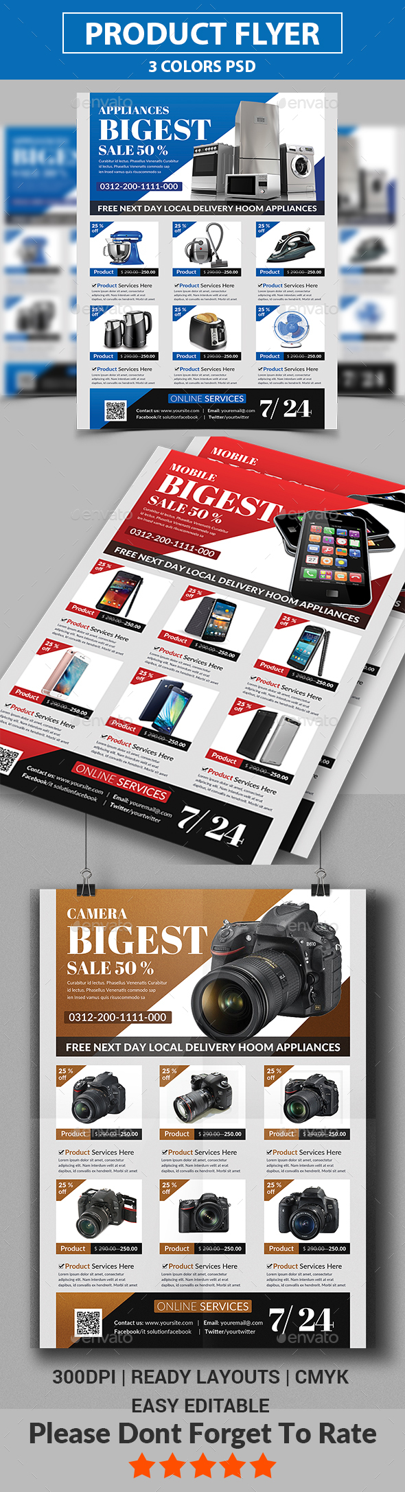 GraphicRiver Product Promotion Flyer 20352516
