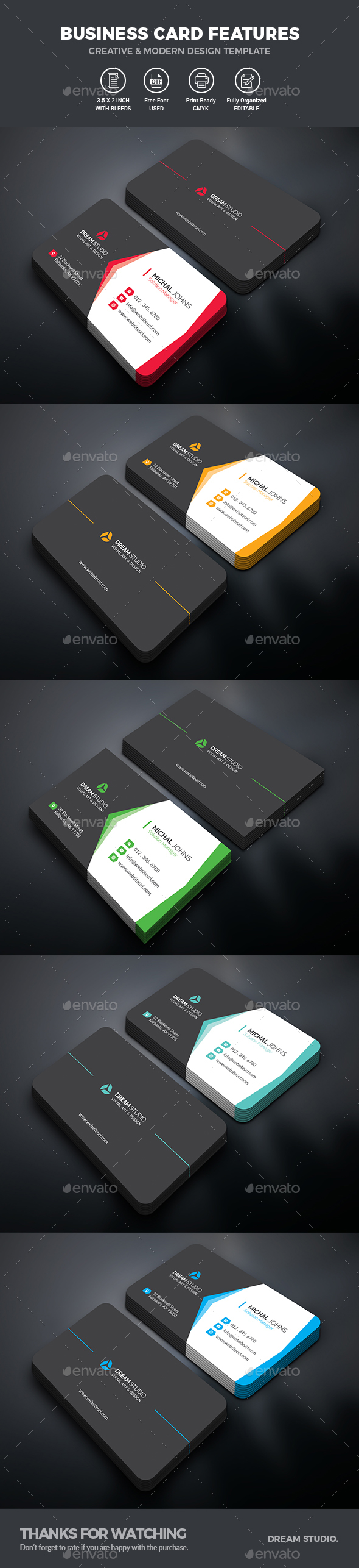GraphicRiver Business Card 20352571