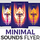 Minimal Sounds Flyer - GraphicRiver Item for Sale