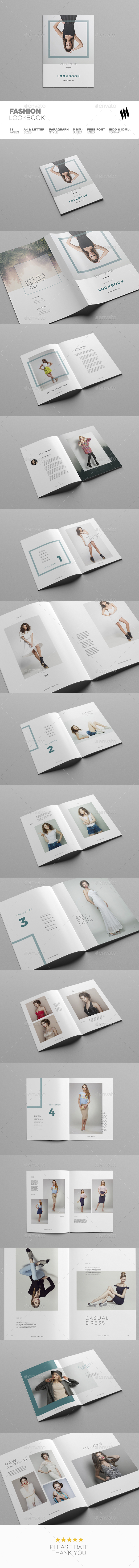 Fashion / Multipurpose Lookbook - Brochures Print Templates