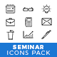 Seminar Icons Pack - GraphicRiver Item for Sale