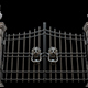 Metal Gates With Decorative Handles - VideoHive Item for Sale