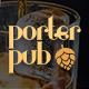 Porter Pub - Restaurant & Bar WordPress Theme - ThemeForest Item for Sale