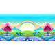 Landscape of Dreams with Rainbow - GraphicRiver Item for Sale