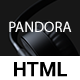 Pandora - One Page MultiPurpose HTML5 Template - ThemeForest Item for Sale