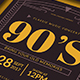 90's Music Flyer - GraphicRiver Item for Sale