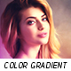 Color Gradient Oil Paint