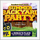 Backyard Party Flyer - GraphicRiver Item for Sale