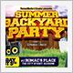 Backyard Party Flyer