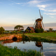 Windmill in a countryside landscape in Holland - PhotoDune Item for Sale