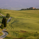 Gravel road in a landscape in Tuscany - PhotoDune Item for Sale
