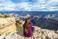 Woman Overlooking Grand Canyon - PhotoDune Item for Sale