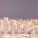 Stacks of golden coins, copy space on the top. - PhotoDune Item for Sale