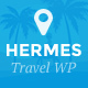 Hermes - WordPress Travel Blog Theme Nulled