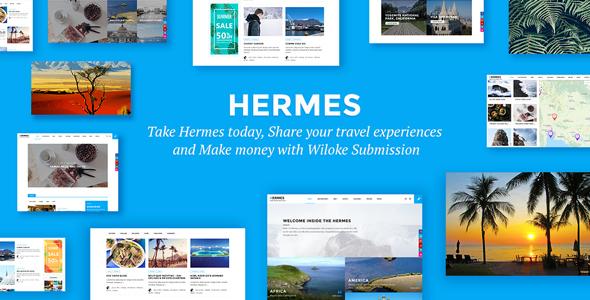 Hermes - WordPress Travel Blog Theme