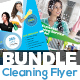 Cleaning Service Flyer Bundle - GraphicRiver Item for Sale