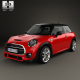Mini Cooper S F56 hardtop 2015 - 3DOcean Item for Sale