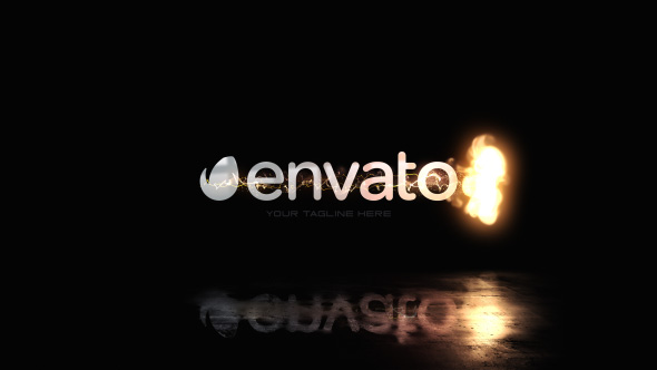 Quick Fire Swish Logo