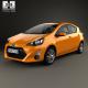 Toyota Prius C 2015 - 3DOcean Item for Sale