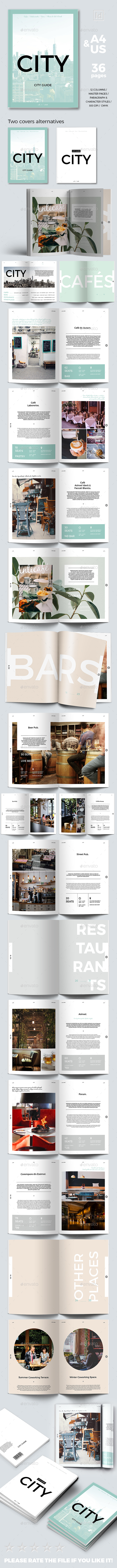 City Guide Template - Magazines Print Templates