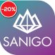 Sanigo Modern Technology WordPress Theme - ThemeForest Item for Sale