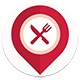 Food Finder (Foresquare Restaurants API,Google Place API,Material design)