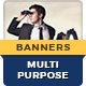 Multipurpose Banner Ads - GraphicRiver Item for Sale