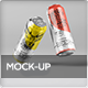 Beer Can Mock-Up - GraphicRiver Item for Sale