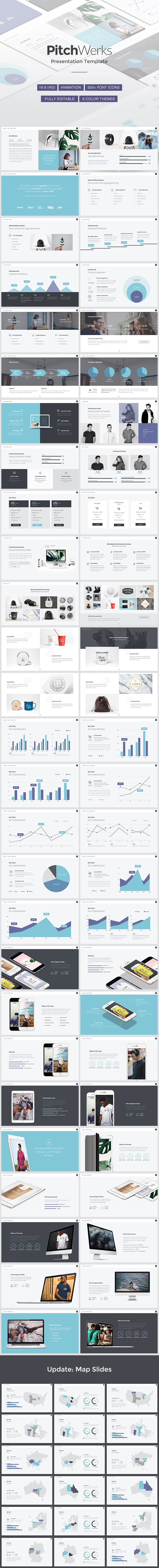 Professional Pitch Powerpoint Template - PowerPoint Templates Presentation Templates