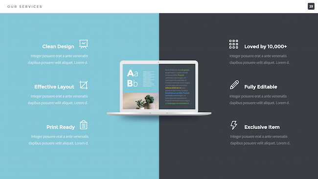 Professional Pitch Powerpoint Template By Slidehack Graphicriver