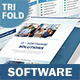 Software Business Trifold Brochure