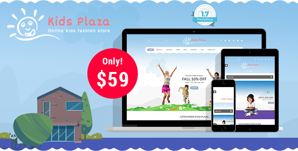 Download Kids Store - Baby Shop Responsive Prestashop 1.7 Theme nulled version