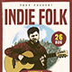 Indie Folk Flyer / Poster Template
