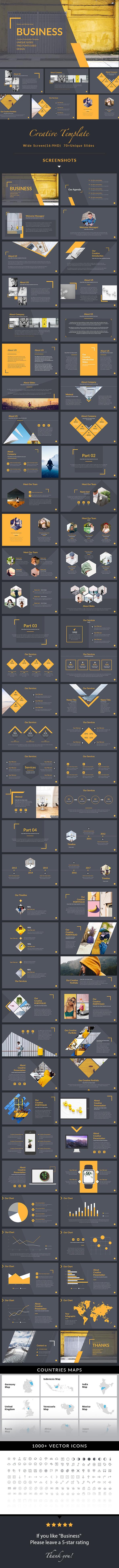 Business - Simple Multipurpose Keynote Template
