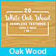 20 White Oak Wood Seamless Background Textures - GraphicRiver Item for Sale