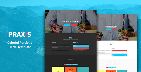 Praxis - Creative Agency and Portfolio HTML5 Template