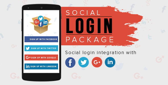 Android Social Login Package - CodeCanyon Item for Sale