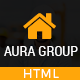 Aura - Construction Contractor Renovation Responsive HTML Template - ThemeForest Item for Sale