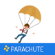 Parachute Game Template for IOS