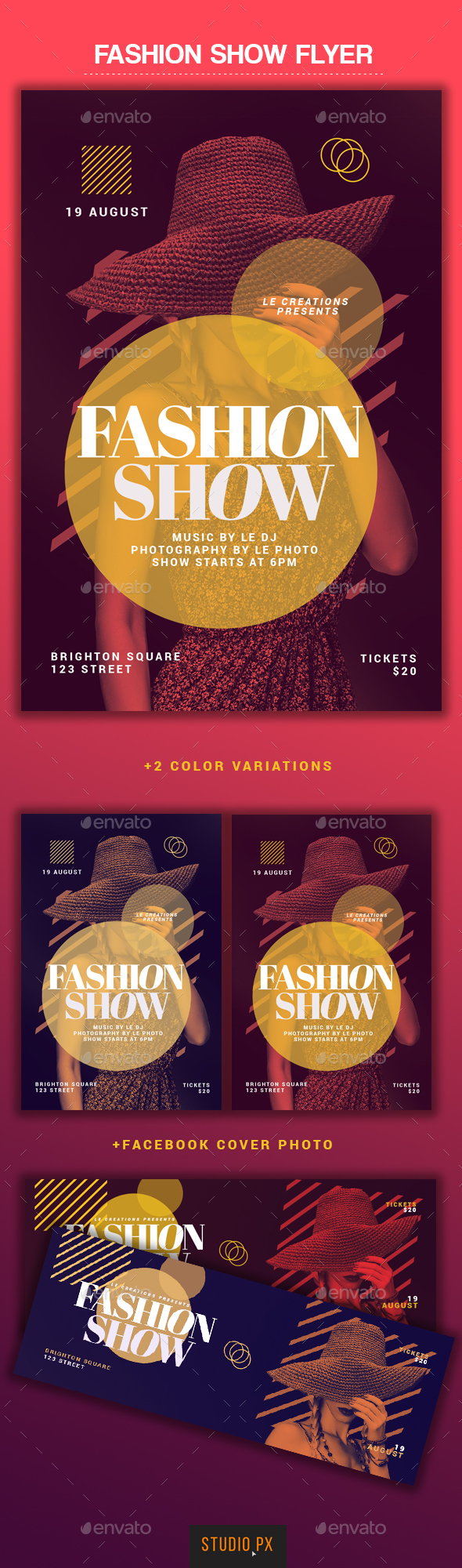 Fashion Show Flyer - Flyers Print Templates