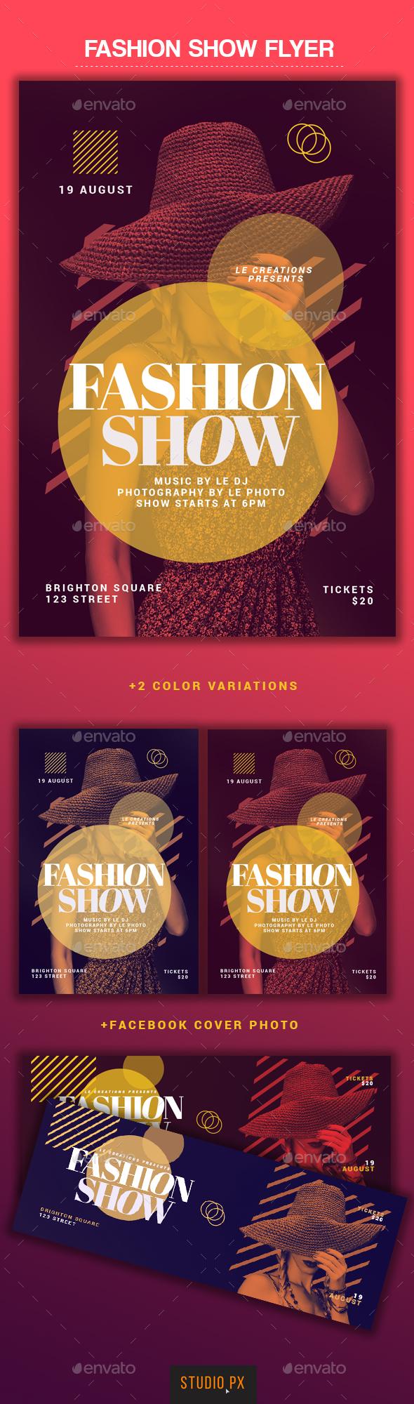 GraphicRiver Fashion Show Flyer 20354731
