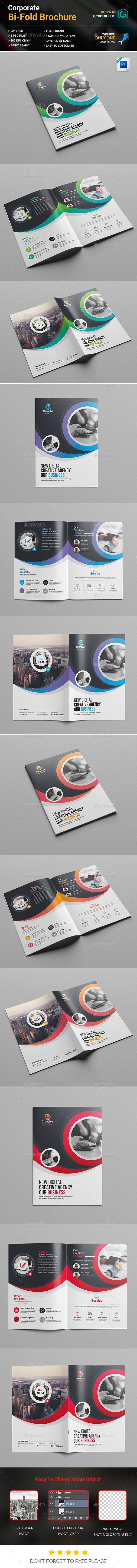 GraphicRiver Bi-Fold Brochure Template 20357446