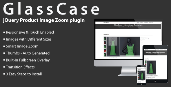 GlassCase - jQuery Product Image Zoom plugin - CodeCanyon Item for Sale