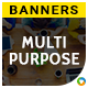 Multi Purpose HTML5 Banners - 7 Sizes - Elite-CC-118